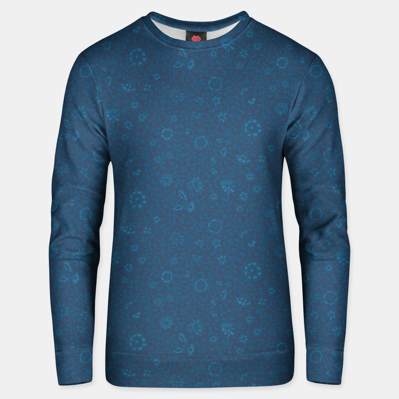 Image of Wild Succory Meadow in Blue Unisex sweater - Live Heroes