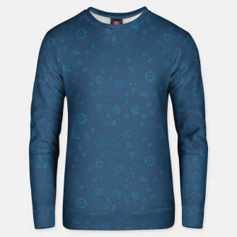 Thumbnail image of Wild Succory Meadow in Blue Unisex sweater, Live Heroes