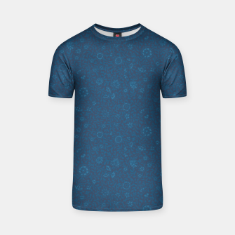 Wild Succory Meadow in Blue T-shirt thumbnail image