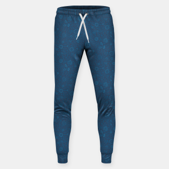 Wild Succory Meadow in Blue Sweatpants thumbnail image