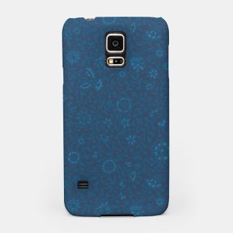 Wild Succory Meadow in Blue Samsung Case thumbnail image