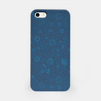 Wild Succory Meadow in Blue iPhone Case thumbnail image