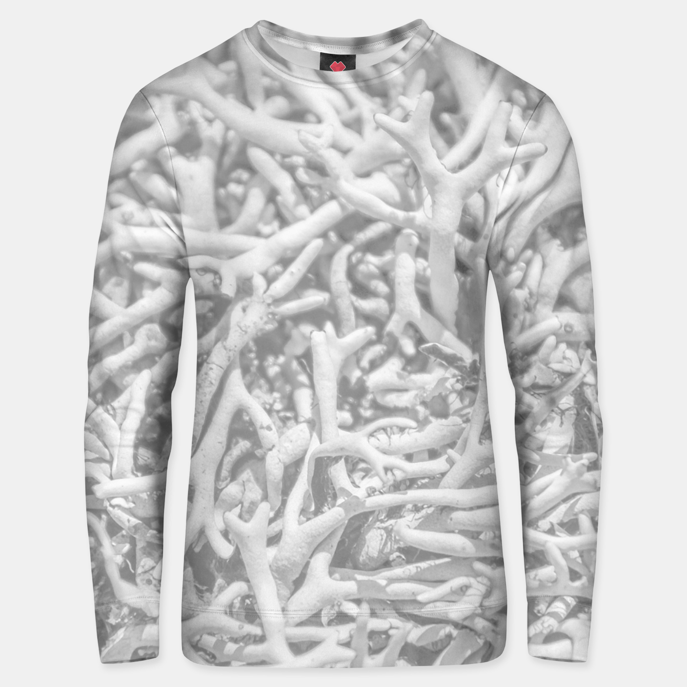 Image of Dry Roots Texture Print Unisex sweater - Live Heroes