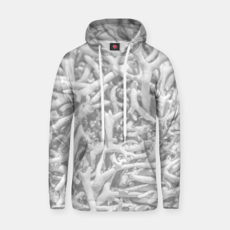 Thumbnail image of Dry Roots Texture Print Hoodie, Live Heroes