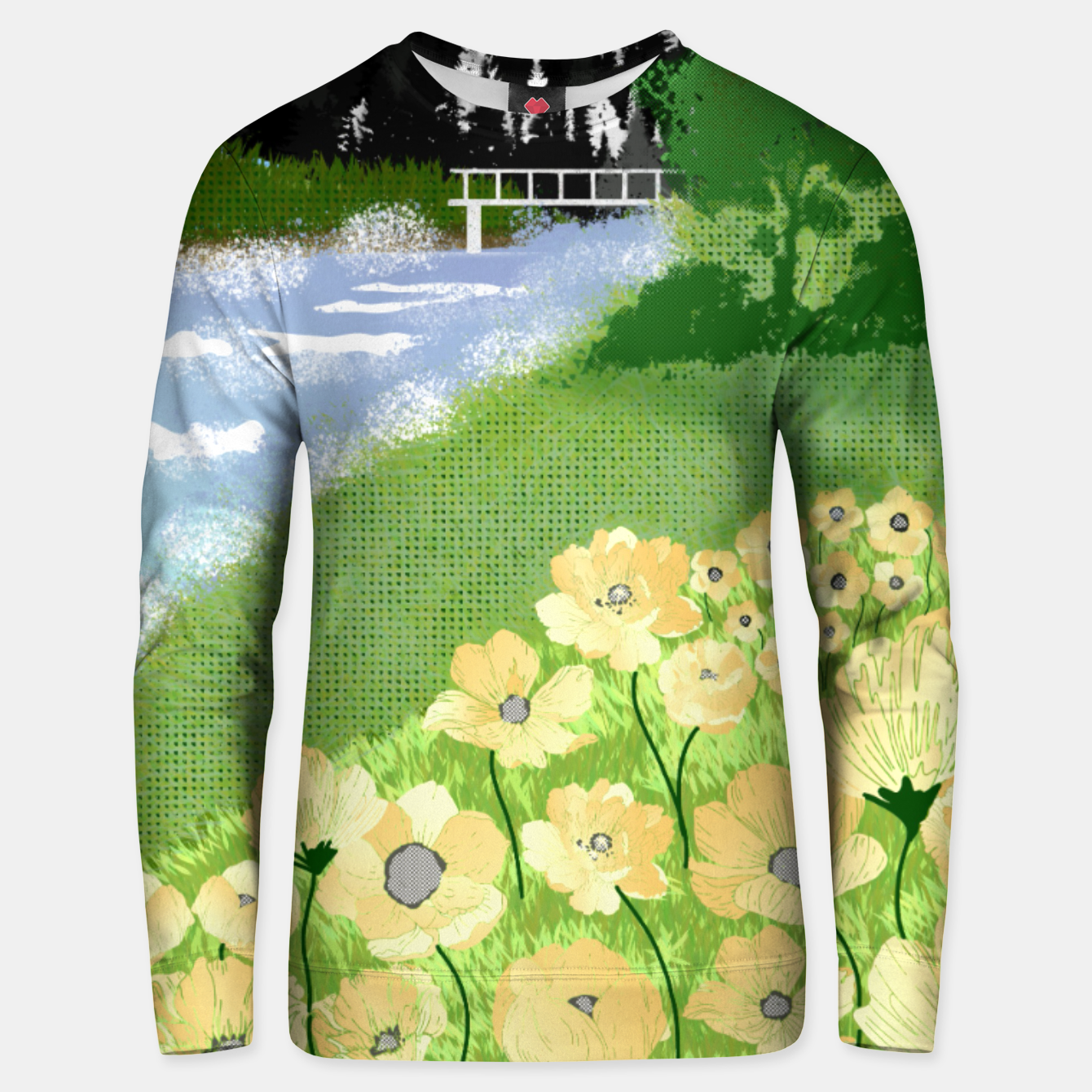 Image of Buttercup Mountain- Forest Unisex sweater - Live Heroes