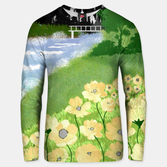 Thumbnail image of Buttercup Mountain- Forest Unisex sweater, Live Heroes