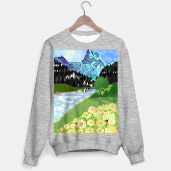 Thumbnail image of Buttercup Mountain- Forest Sweater regular, Live Heroes