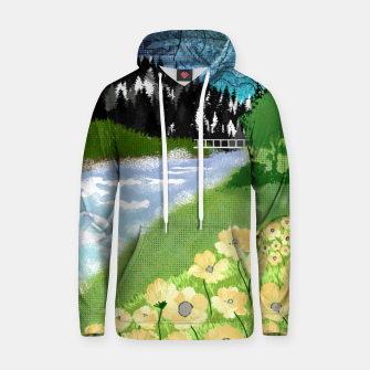 Thumbnail image of Buttercup Mountain- Forest Hoodie, Live Heroes