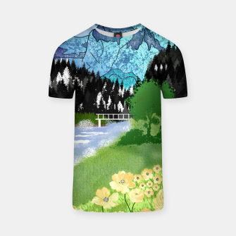 Thumbnail image of Buttercup Mountain- Forest T-shirt, Live Heroes