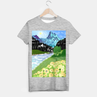 Thumbnail image of Buttercup Mountain- Forest T-shirt regular, Live Heroes