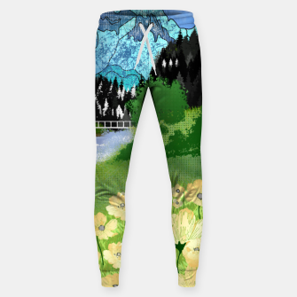 Miniature de image de Buttercup Mountain- Forest Sweatpants, Live Heroes