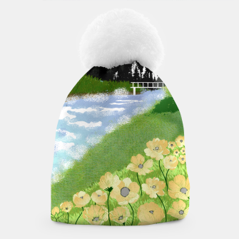Thumbnail image of Buttercup Mountain- Forest Beanie, Live Heroes