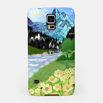 Miniature de image de Buttercup Mountain- Forest Samsung Case, Live Heroes