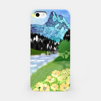 Miniature de image de Buttercup Mountain- Forest iPhone Case, Live Heroes