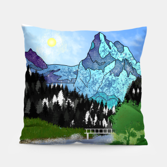 Thumbnail image of Buttercup Mountain- Forest Pillow, Live Heroes