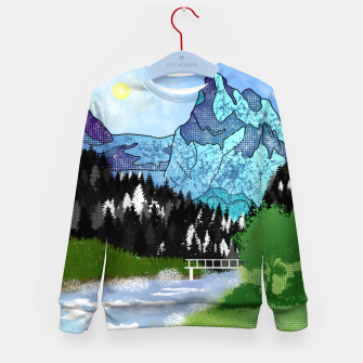 Miniature de image de Buttercup Mountain- Forest Kid's sweater, Live Heroes