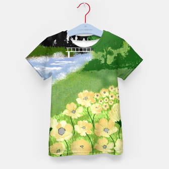 Miniature de image de Buttercup Mountain- Forest Kid's t-shirt, Live Heroes