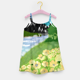 Miniature de image de Buttercup Mountain- Forest Girl's dress, Live Heroes
