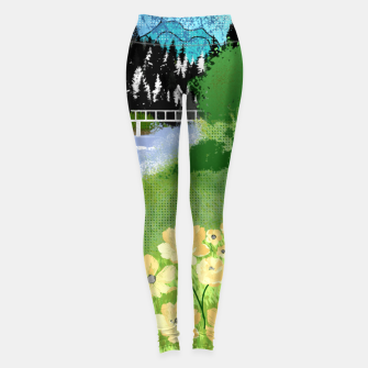 Miniature de image de Buttercup Mountain- Forest Leggings, Live Heroes