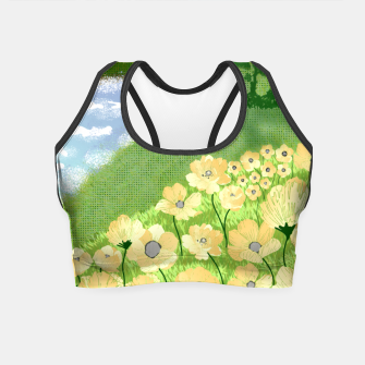 Miniature de image de Buttercup Mountain- Forest Crop Top, Live Heroes