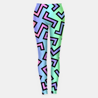 Thumbnail image of 80s Rainbow Leggings, Live Heroes