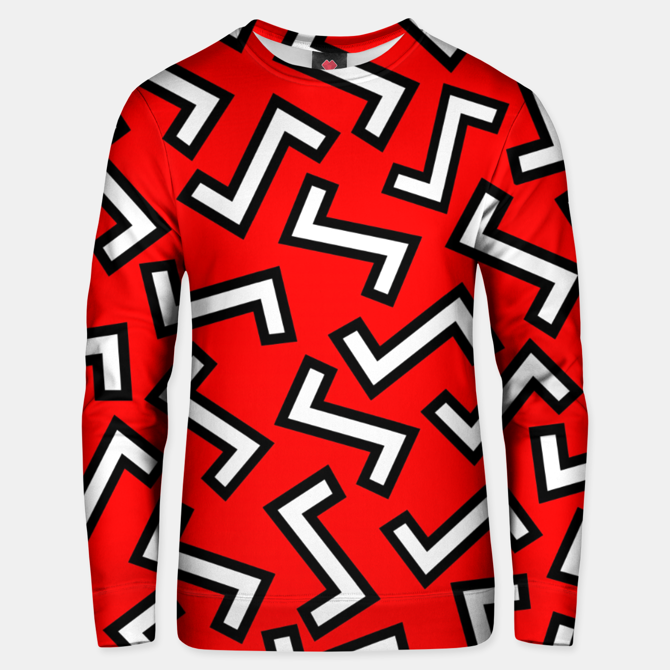 Image of 80s Red Unisex sweater - Live Heroes