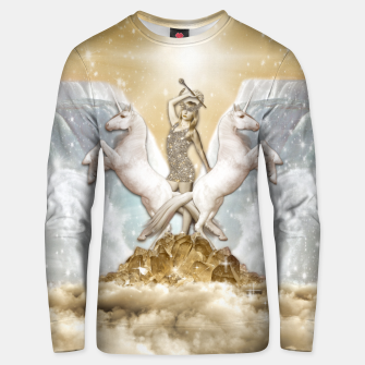 Thumbnail image of THE CHARIOT TAROT CARD Sudadera unisex, Live Heroes