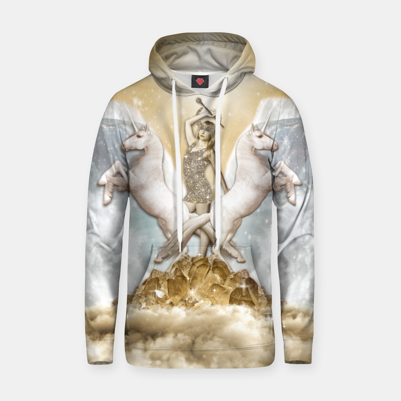 Image of THE CHARIOT TAROT CARD Sudadera con capucha - Live Heroes
