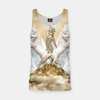 Thumbnail image of THE CHARIOT TAROT CARD Camiseta de tirantes, Live Heroes
