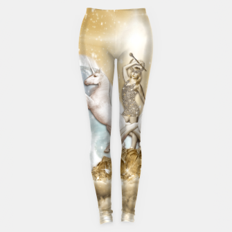 Thumbnail image of THE CHARIOT TAROT CARD Leggings, Live Heroes