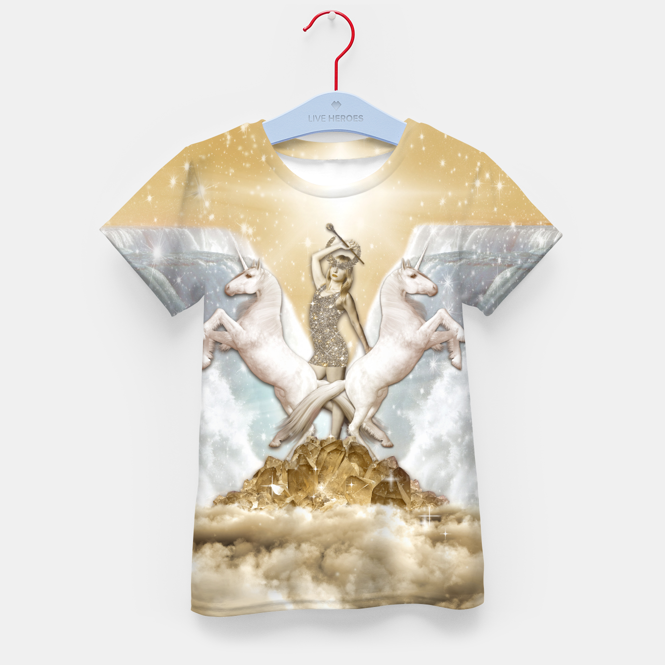 Image of THE CHARIOT TAROT CARD Camiseta para niños - Live Heroes