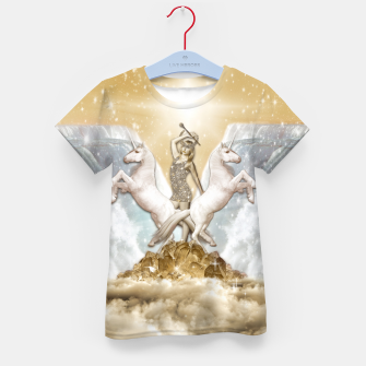 Thumbnail image of THE CHARIOT TAROT CARD Camiseta para niños, Live Heroes