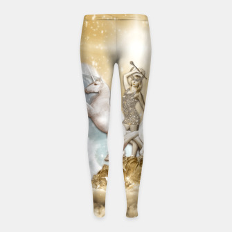 THE CHARIOT TAROT CARD Leggings para niña thumbnail image