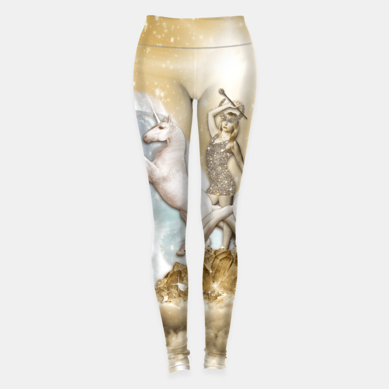 Image of THE CHARIOT TAROT CARD Leggings - Live Heroes