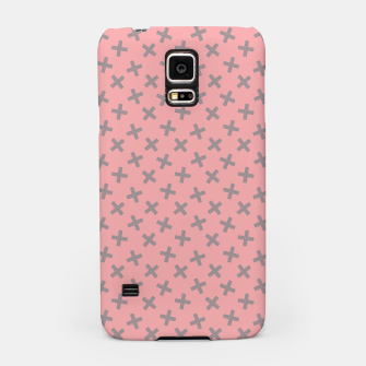 ULTIMATE GRAY / PINK - CROSSES 2 Samsung Case thumbnail image