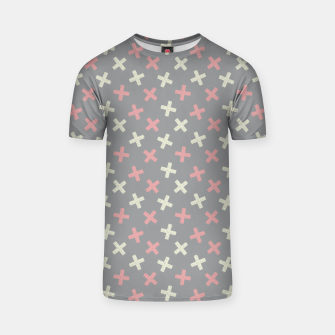 Thumbnail image of ULTIMATE GRAY / PINK - CROSSES 1 T-shirt, Live Heroes