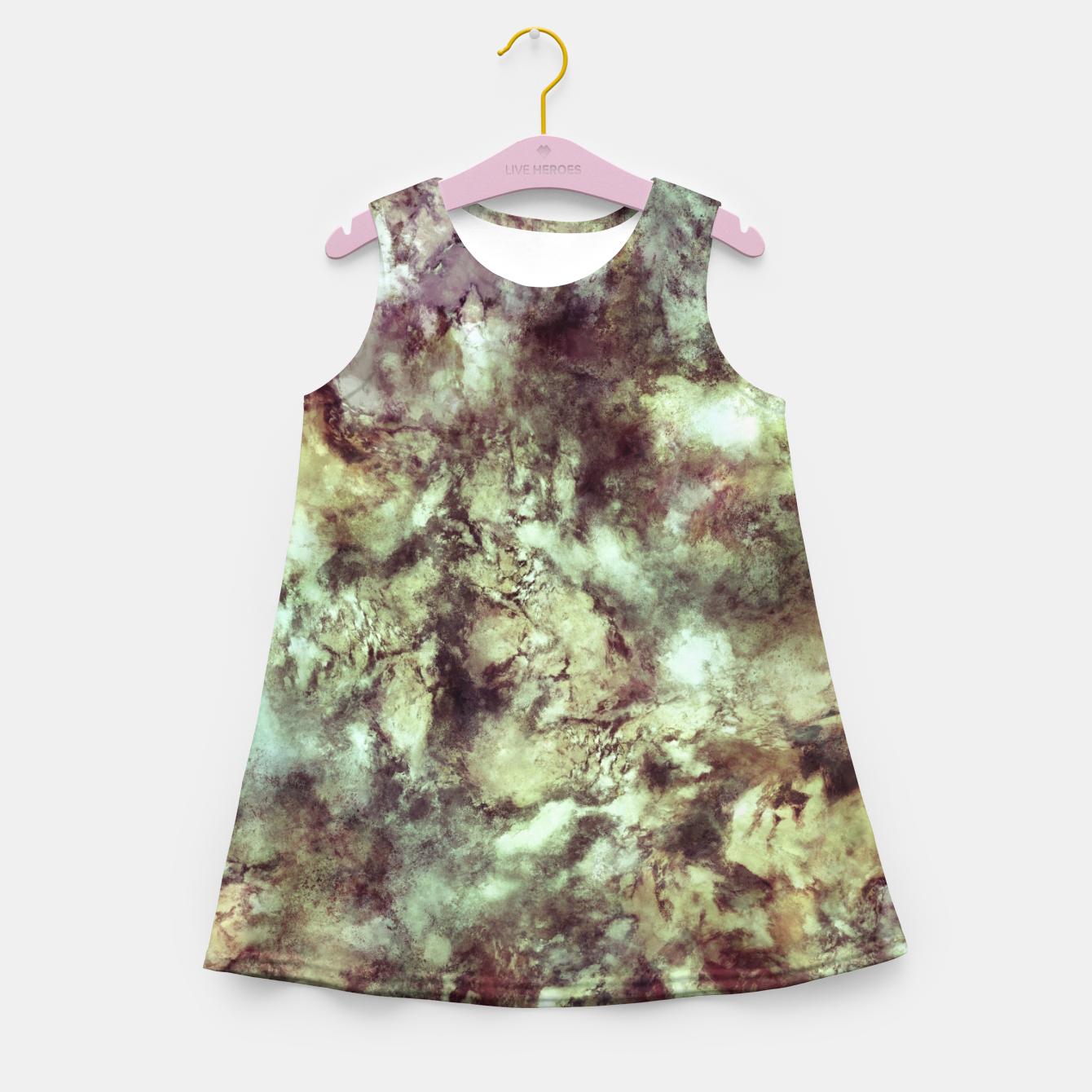 Image of An old road Girl's summer dress - Live Heroes