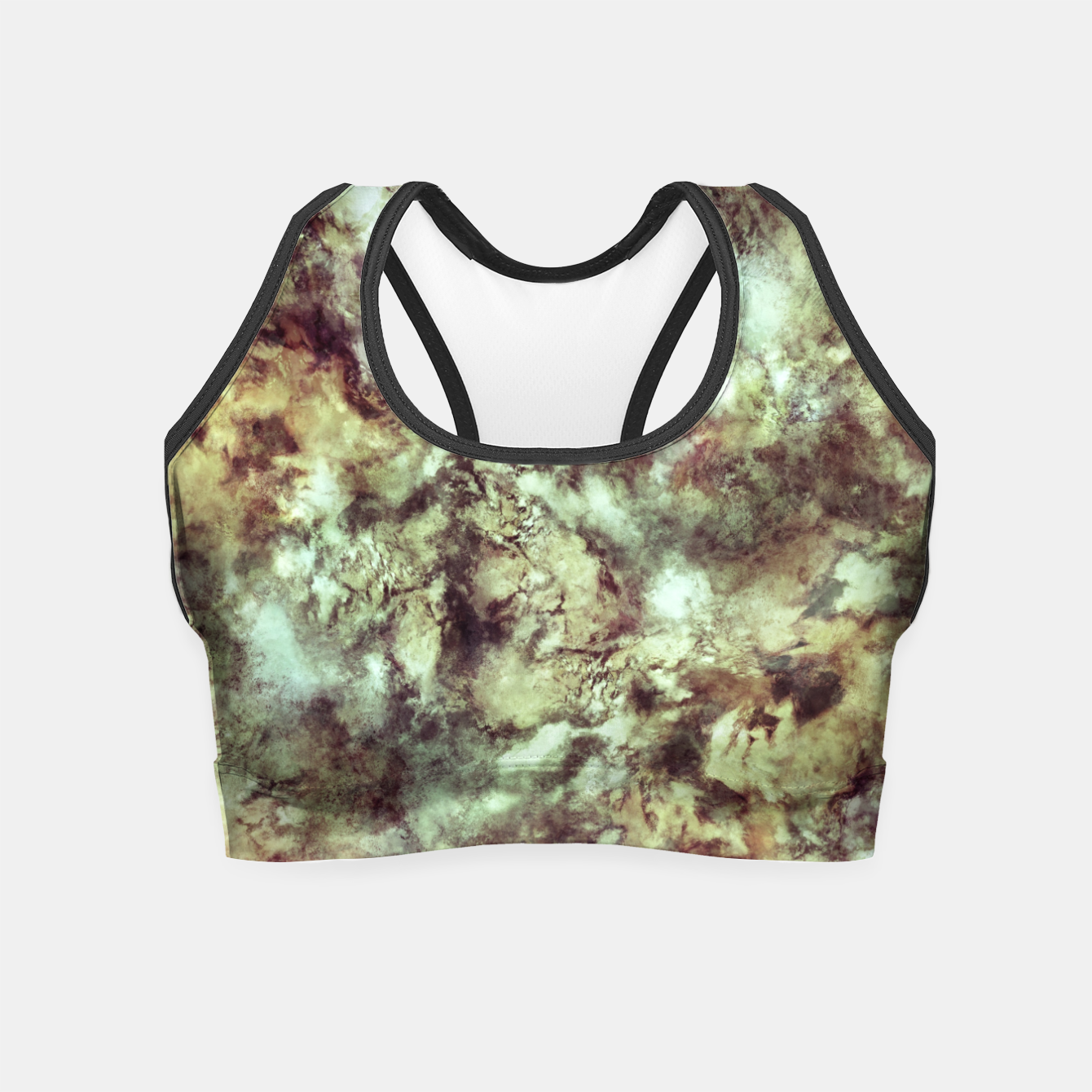 Image of An old road Crop Top - Live Heroes