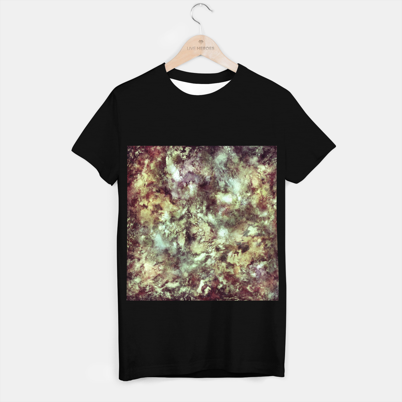 Image of An old road T-shirt regular - Live Heroes