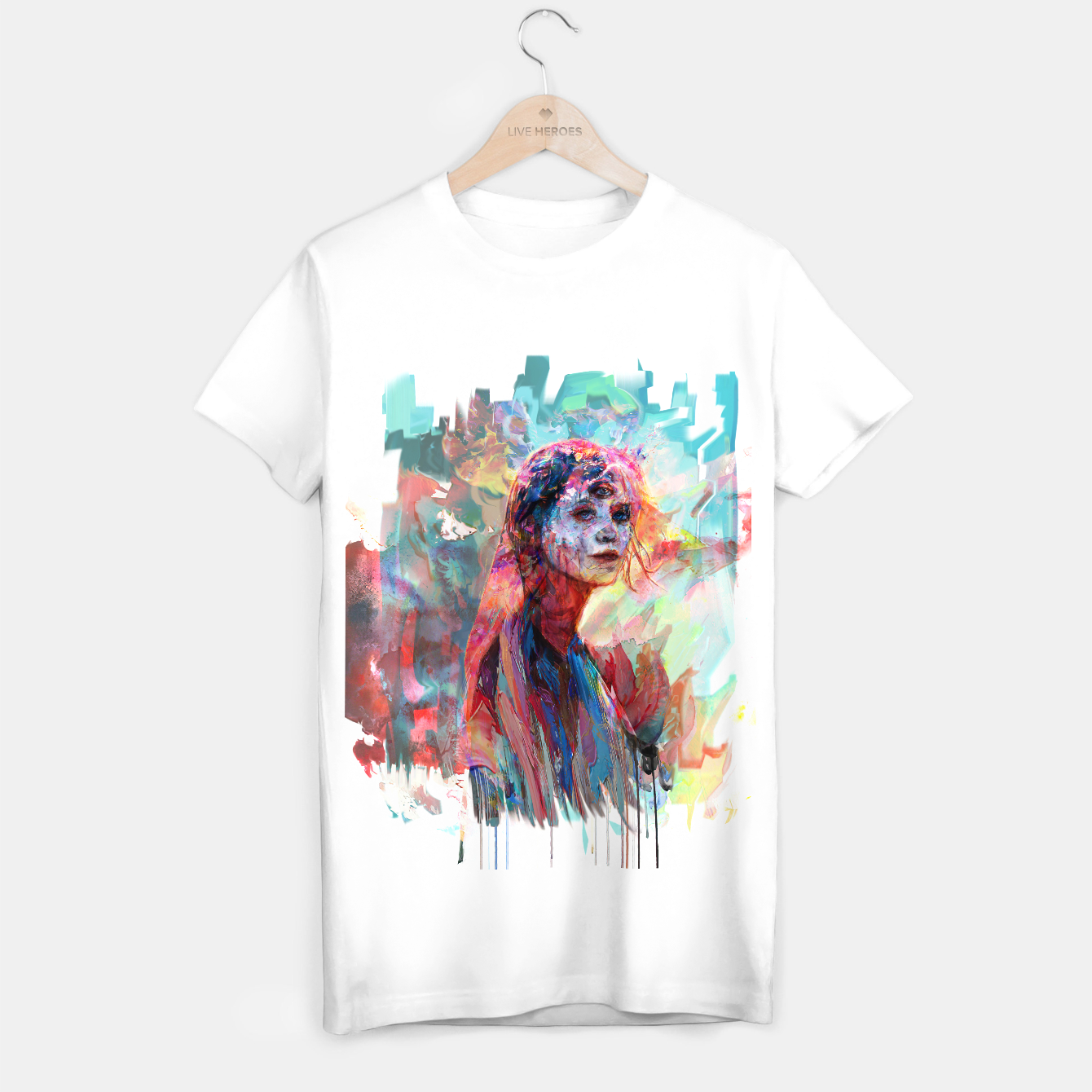 Image of spring  T-shirt regular - Live Heroes