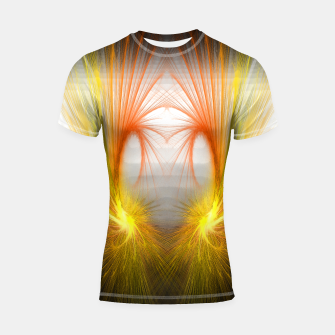 Imagen en miniatura de fantasy flash lights abstract  Shortsleeve rashguard, Live Heroes