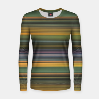 Thumbnail image of Multicolored Linear Abstract Pattern Women sweater, Live Heroes