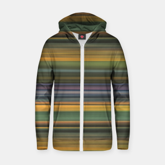Thumbnail image of Multicolored Linear Abstract Pattern Zip up hoodie, Live Heroes
