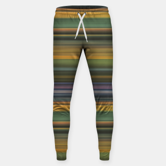 Miniature de image de Multicolored Linear Abstract Pattern Sweatpants, Live Heroes
