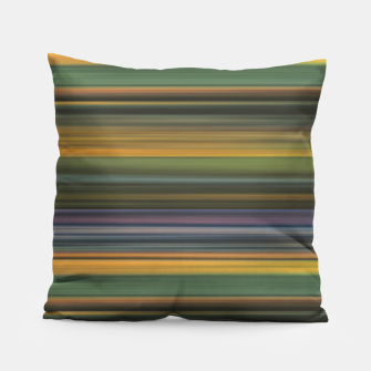 Thumbnail image of Multicolored Linear Abstract Pattern Pillow, Live Heroes