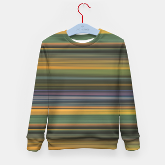 Thumbnail image of Multicolored Linear Abstract Pattern Kid's sweater, Live Heroes