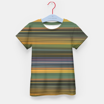 Thumbnail image of Multicolored Linear Abstract Pattern Kid's t-shirt, Live Heroes