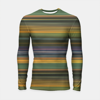 Thumbnail image of Multicolored Linear Abstract Pattern Longsleeve rashguard , Live Heroes