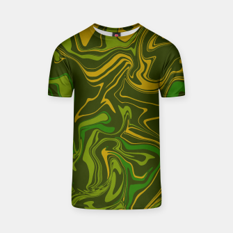Thumbnail image of Army Camo Marble Melt Unisex T-Shirt, Live Heroes
