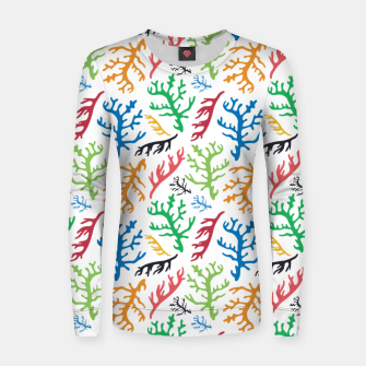 Thumbnail image of MATISSE CORAL REEF PATTERN Women sweater, Live Heroes